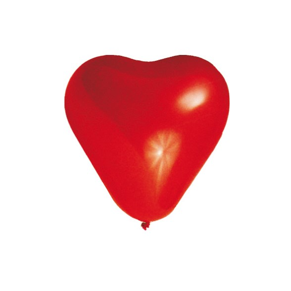 Balonky srdce á 100ks 58001