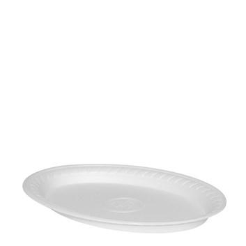 Termo talíř oválný bilý 29,5*21cm  á 100ks 75210