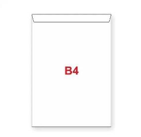 Obálka  B4  krycí páska taška