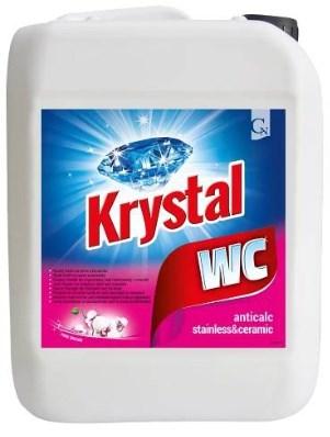 KRYSTAL WC cleaner 5L drog.