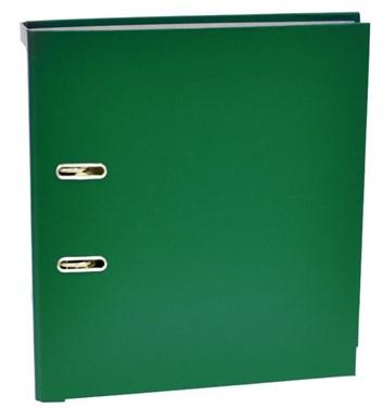 Pořadač A4 pákový umělý šířka hřbetu 7cm zelený