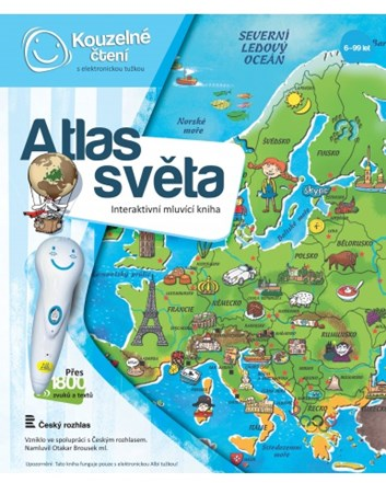 Kouzelné čtení Kniha Atlas světa