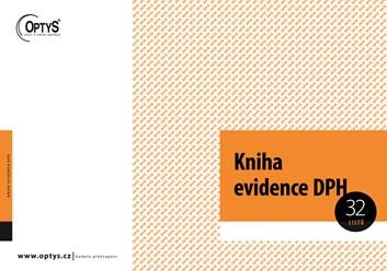 Kniha evidence DPH OP019