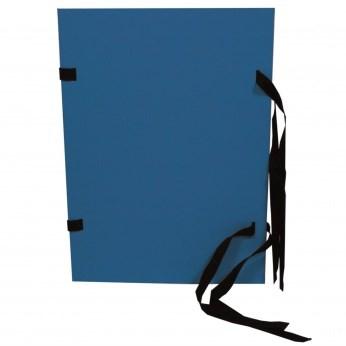Desky s tkanicí A4 HIT černé/modré obyč