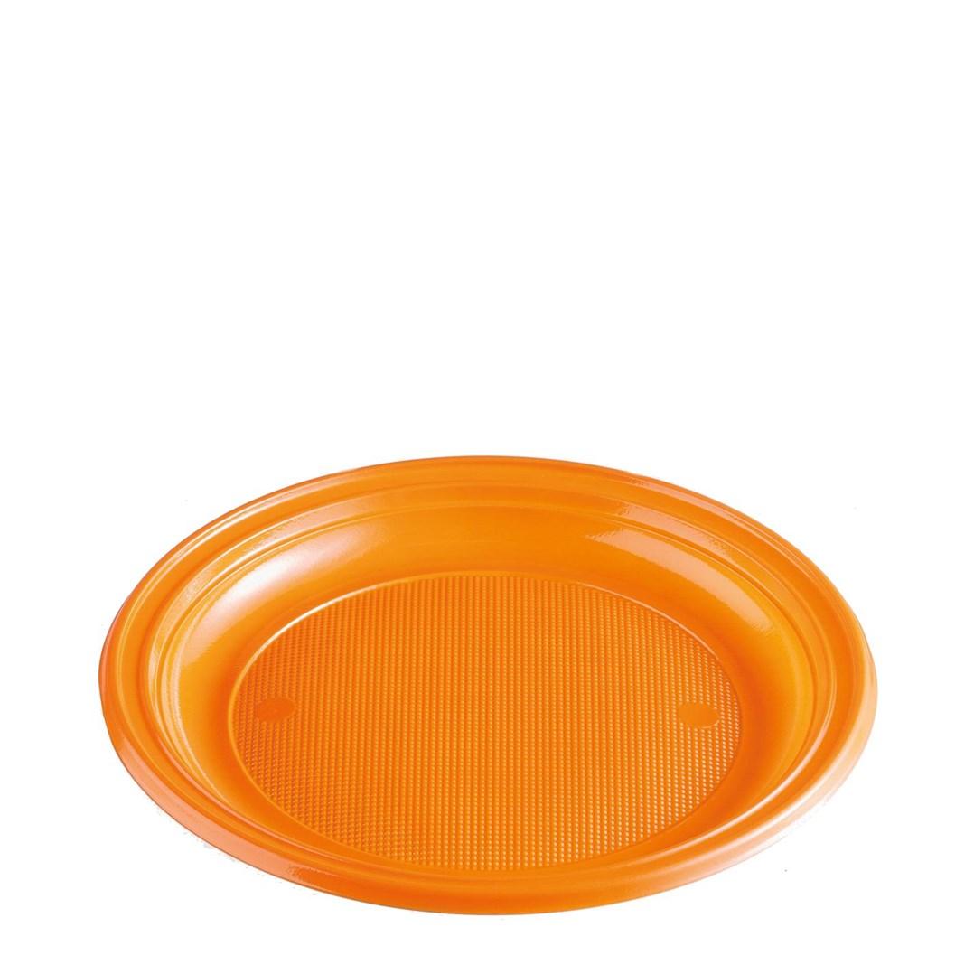 Párty talíř barevný 22cm á 10ks 65354