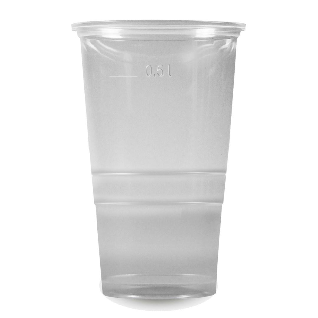 Párty pohárek průhledný 0,5l 10ks 65315