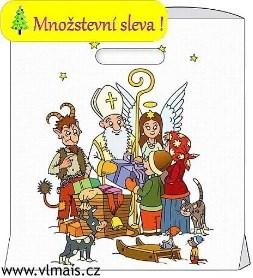 Sáček Mikuláš  s křížovým dnem