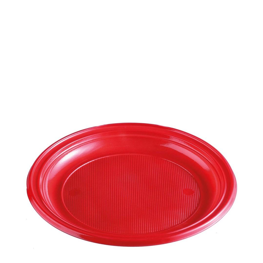 Párty talíř barevný 22cm á 10ks 65351