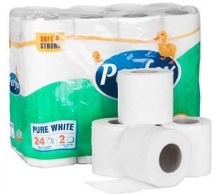 Toaletní papír PERFEX     2vr.+ KATRIN 96 ks