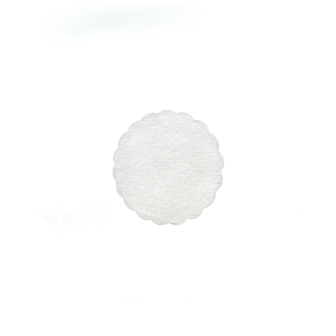 Rozetky 9cm 40ks bílé 89800