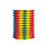 Lampion roztahovací barevný 25 cm (O 15 cm) [1 ks] 66870