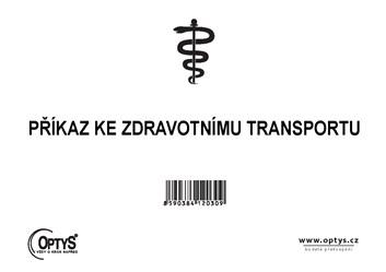 Příkaz ke zdravotnímu transportu OP203