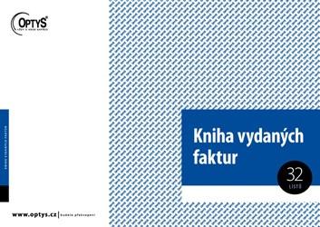Kniha vydaných faktur OP010