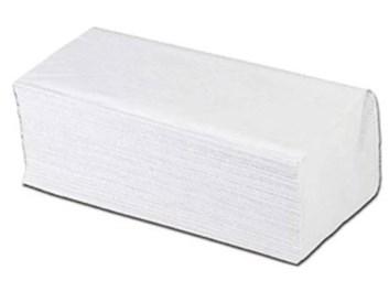 Ručníky  2vrstvé ZZ 3000ks bílé celuloza