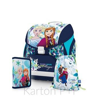 Školní batoh set Frozen Karton