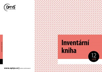 Inventární kniha ZP + DKP OP012