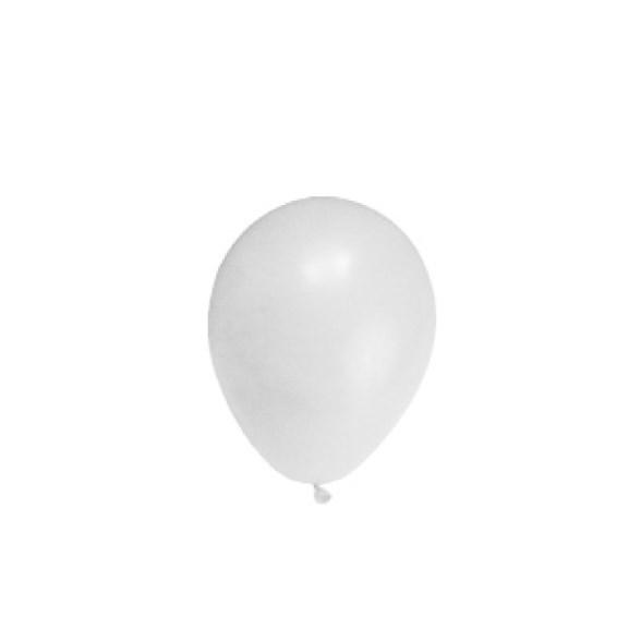 """Balonky nafukovací bílé """"M""""  ( 10ks ) 53100"""