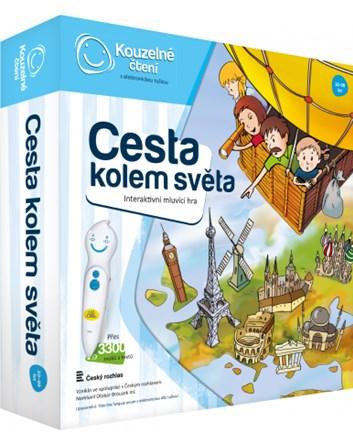 Kouzelné čtení Hra Cesta kolem světa