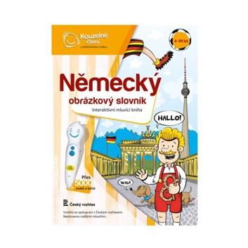 Kouzelné čtení Kniha Německý obrázkový slovník