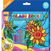 Barvy na sklo GLASS DECO 7ks