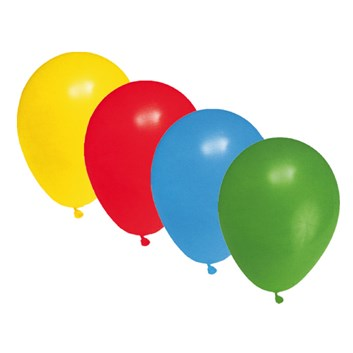 Balonky nafukovací 10 ks metalíza 53599