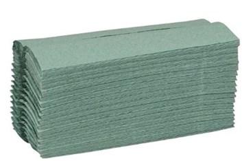 Ručníky 1vrstvé ZZ 5000ks šedé/zelené  60006,60009
