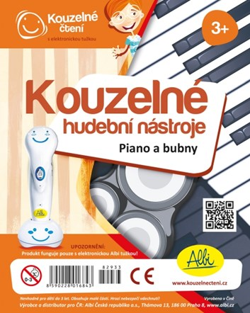 Kouzelné čtení Kouzelné nástroje - piano a bubínek