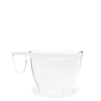 Kelímek na kávu bílý s ouškem á 60ks 73251