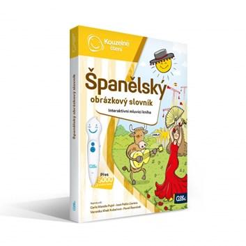 Kouzelné čtení Kniha Španělský obrázkový slovník