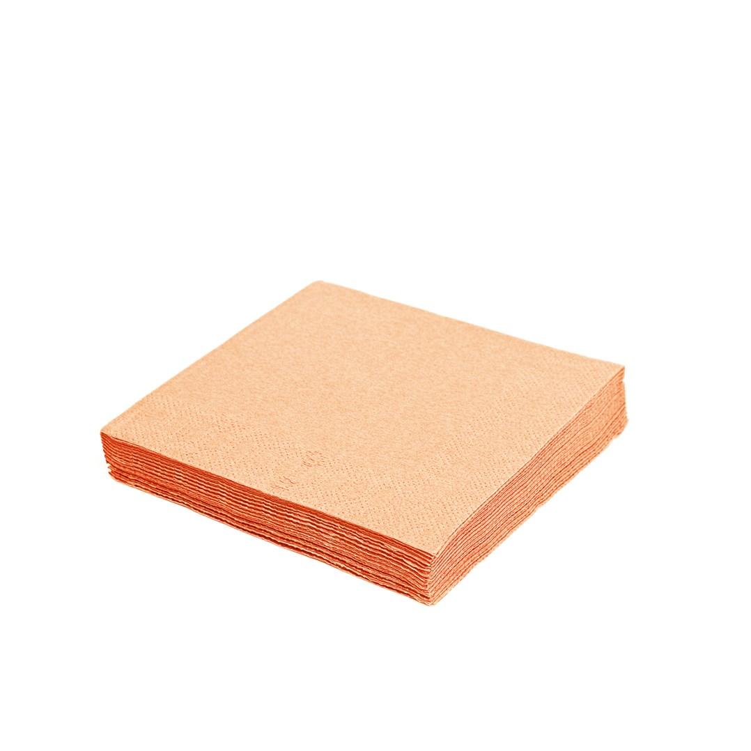 Ubrousky  2vrstvé 33*33 á 50ks  86504 oranžové