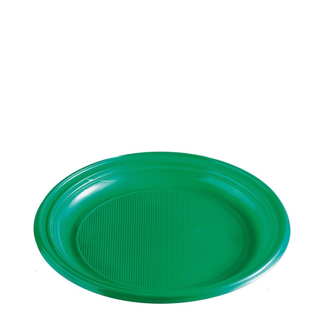Párty talíř barevný 22cm á 10ks 65356