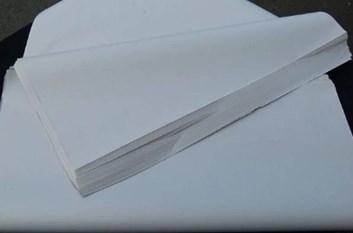 Balicí papír hedvábný bílý-dortový-25g. albíno