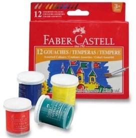 FABER CASTELL tempery 12ks v kelímku 161112