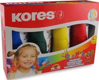Prstové barvy KORES 150 ml