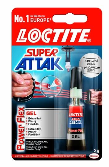Sekundové lepidlo LOCTITE super bond gel 2g