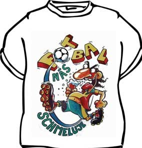 Tričko - Fotbal nás schmeluje