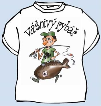 Tričko - Vášnivý rybář