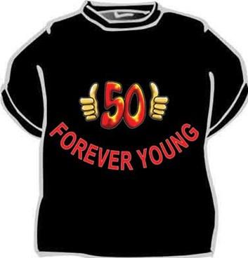 Tričko - Forever young