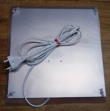 VNZ322 Výhřevná deska 230V/20W s regulací teploty pro kuřata - malá