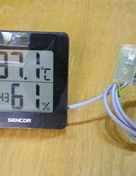 SWS15B Digitální teploměr a vlhkoměr