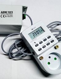 ADK103B Automatický naviják pro dvířka kurníku + digitální časovač
