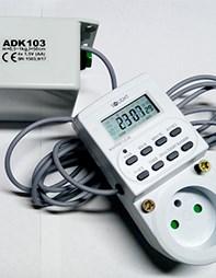 ADK103B Automatický naviják bateriový pro dvířka kurníku + digitální časovač