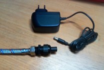 VNZ314 Vyhřívaný kabel do vody s termostatem přehřátí- 20W , 230V / 12V