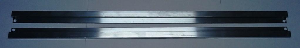 Náhradní hliníkové lyžiny 60cm
