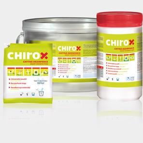 Chirox 3kg přípravek k plošné a prostorové dezinfekci + prádla 70000215/6