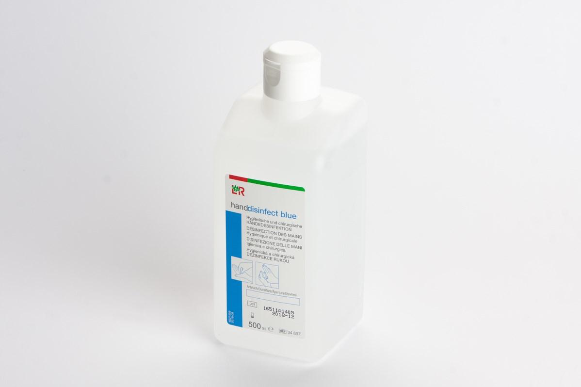 L+R Handdisinfect Blue propanolová dezinfekce na kůži 100ml 34696 /40