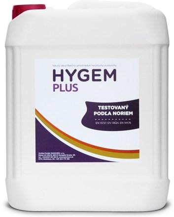 Hygem Plus 5l dezinfekce ploch a povrchů