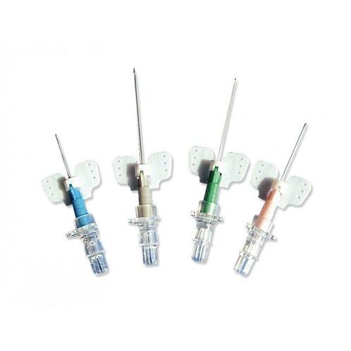Kanyla intravenozní 22G KD-FIX MONO 0,9x25mm křidélka 50ks modrá bez portu