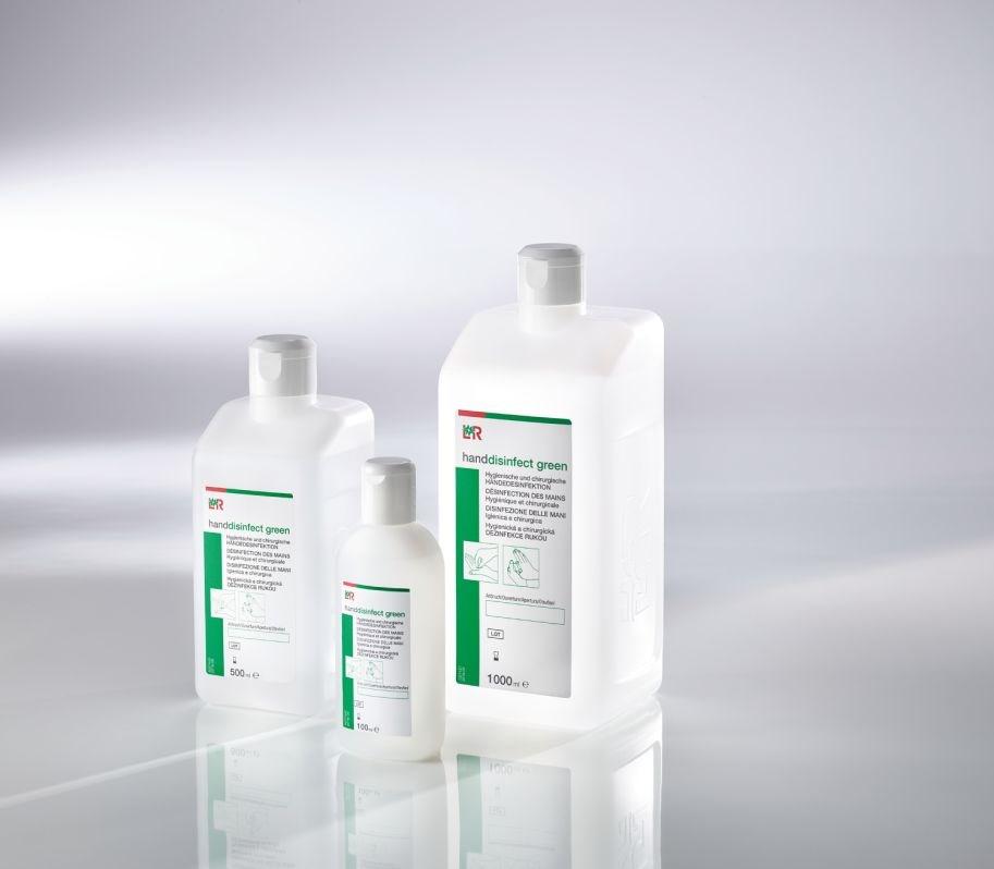 L+R Handdisinfect Green etanolová dezinfekce na kůži 1000ml 34701/10