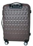 Sada 3 cestovních kufrů T-Class TPL3018 z lehkého ABS plastu, hnědá